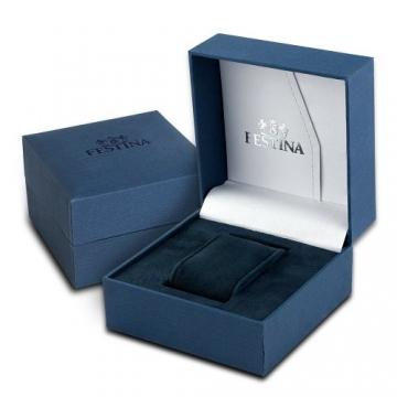 Festina Herren-Armbanduhr XL Analog Quarz Edelstahl F16744/3