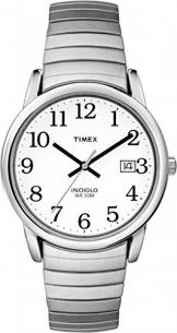Timex Herren-Armbanduhr Weiß Analog Edelstahl T2H451D7