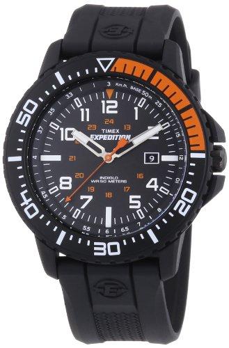 Timex Herren-Armbanduhr XL Timex Expedition Uplander Analog Quarz Plastik T49940D7