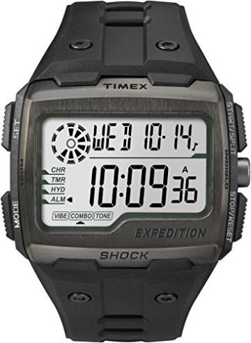 Timex Unisex-Armbanduhr Grid Shock Analog TW4B02500