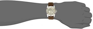 Timex Herren-Armbanduhr Analog Leder Braun T46681D7 -