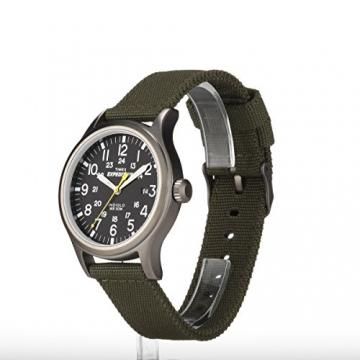 Timex Unisex-Armbanduhr Expedition Scout Analog Quarz Nylon T49961 -