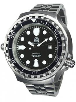 52mm GROSSE Automatik Uhr mit Edelstahl Band T0254-M