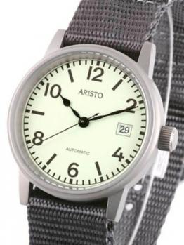 Aristo U-Boot Herren Automatikuhr 3H17