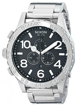 Nixon Herren-Armbanduhr Quarz Chronograph 1000 A083