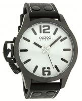 Oozoo Steel OS0060 XXL Damenuhr schwarz – 46 mm