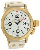 Oozoo Steel OS0206 XXL Damenuhr goldfarben/weiss – 48 mm