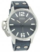 Oozoo Steel OS0260 XXL Damenuhr grau