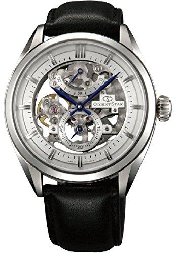 """Orient star classic """"Full Skelett 50Stunden Gangreserve Saphir Hand Aufziehen Kleid Armbanduhr dx00002W"""