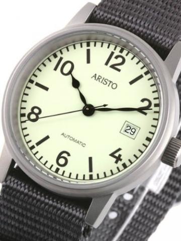 Aristo U-Boot Herren Automatikuhr 3H17 -