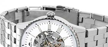Lindberg & Sons Herren-Armbanduhr Automatik Analog Skelettuhr Edelstahl – CHP157 -