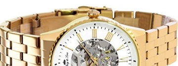 Lindberg & Sons Herren-Armbanduhr Automatik Analog Skelettuhr Edelstahl – CHP161 -