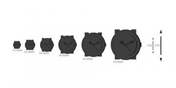 Obaku Harmony Damen-Armbanduhr V120L CIRB Titan-Glas -