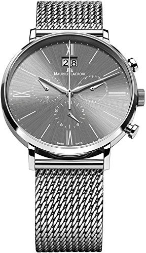 Maurice Lacroix Eliros EL1088-SS002-810-1 Herrenchronograph Großdatum