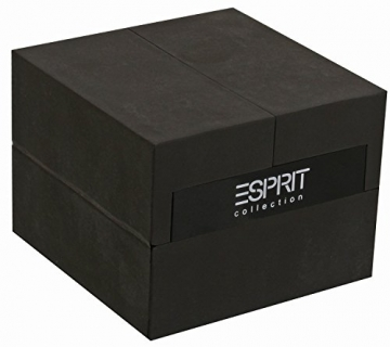 Esprit Collection Herren-Armbanduhr Pallas Analog Quarz Leder EL101361F01 -