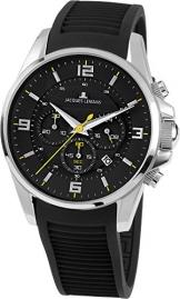Jacques Lemans Herren-Armbanduhr Liverpool Analog Quarz Silikon 1-1799A -