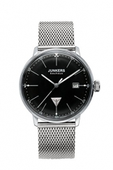 Junkers Herren-Armbanduhr Analog Quarz Edelstahl 6070M2 -