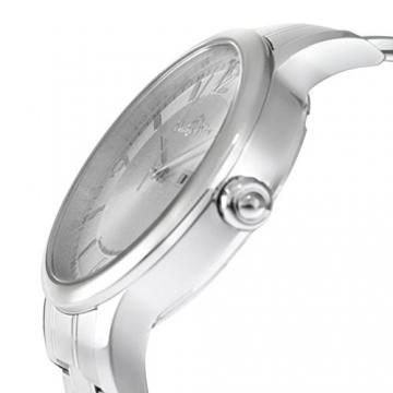 Lindberg & Sons Herren-Armbanduhr Quarz Schweizer Werk Analog Edelstahl - LSSM201B -