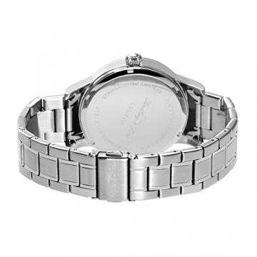 Lindberg & Sons Herren-Armbanduhr Quarz Schweizer Werk Analog Edelstahl - LSSM301 -