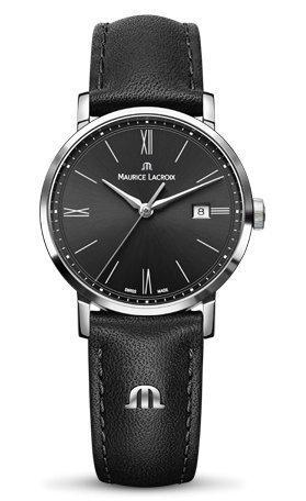 Maurice Lacroix Damen-Armbanduhr Analog Quarz Leder EL1084-SS001-313-1 -