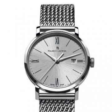 Maurice Lacroix Damen-Armbanduhr XS Eliros Analog Quarz Edelstahl EL1084-SS002-110 -