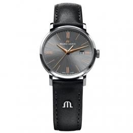 Maurice Lacroix Damen-Armbanduhr XS Eliros Analog Quarz Leder EL1084-SS001-811 -