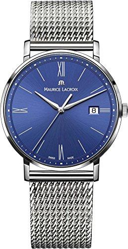 Maurice Lacroix Eliros EL1087-SS002-410-1 Herrenarmbanduhr flach & leicht -