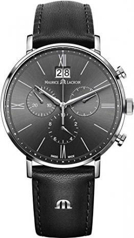 Maurice Lacroix Eliros EL1088-SS001-811-1 Herrenchronograph Großdatum -