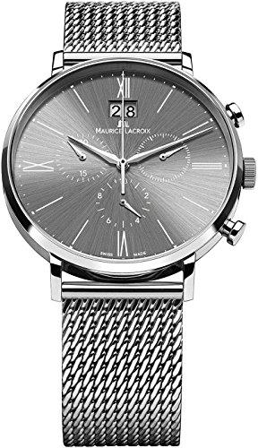 Maurice Lacroix Eliros EL1088-SS002-810-1 Herrenchronograph Großdatum -