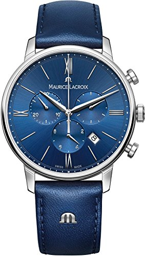 Maurice Lacroix Eliros EL1098-SS001-410-1 Herrenchronograph Swiss Made -