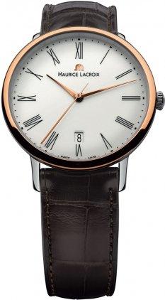 Maurice Lacroix Les Classiques Automatik Uhr, Edelstahl, ML155, Tag, Datum -