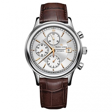 Maurice Lacroix Les Classiques Chronographe Herrenuhr Chrono Swiss Made LC6158-SS001-130-1 -