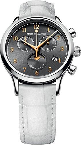 Maurice Lacroix Les Classiques LC1087-SS001-821 Damenchronograph Mondphase -