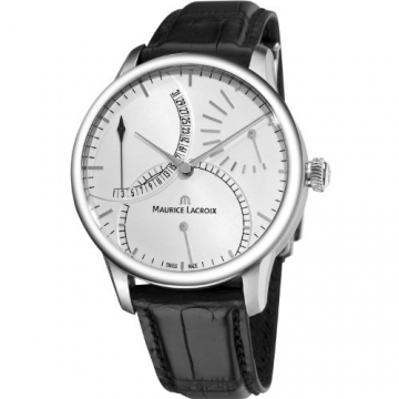 Maurice Lacroix Masterpiece Calendrier Retrograde Automatique MP6508-SS001-130 -