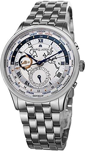 Maurice Lacroix Masterpiece Herren 42mm Chronograph Datum Uhr MP6008-SS002111 -