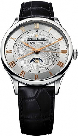 Maurice Lacroix Maurice Lacroix Meisterwerk Phase De Lune Mens Watch MP6607-SS001-111 -
