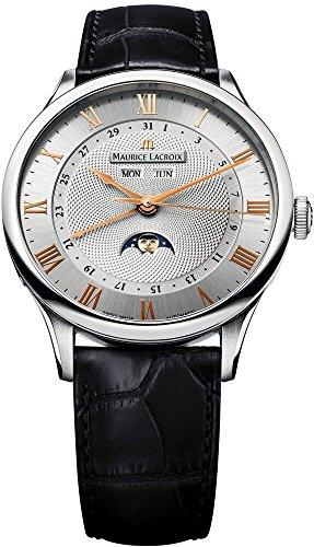 Maurice Lacroix Maurice Lacroix Meisterwerk Phase De Lune Mens Watch MP6607-SS001-111 -