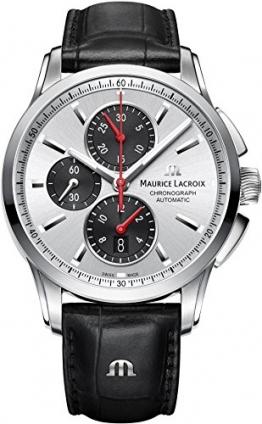 Maurice Lacroix Pontos Herren Automatikchronograph Massives Gehäuse -