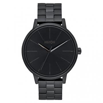 Nixon Unisex-Armbanduhr Kensington Analog Quarz Edelstahl A099 – 001-00 -