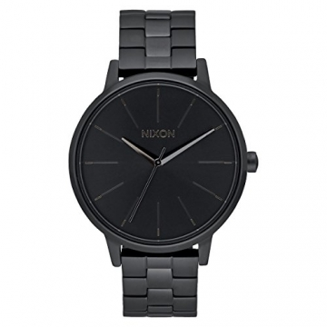 Nixon Unisex-Armbanduhr Kensington Analog Quarz Edelstahl A099 - 001-00 -