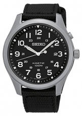 Seiko Herren-Armbanduhr Analog Quarz Nylon SKA727P1 -